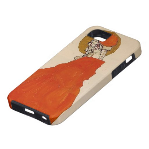 Egon Schiele- Standing Figure with Halo iPhone 5 Cover