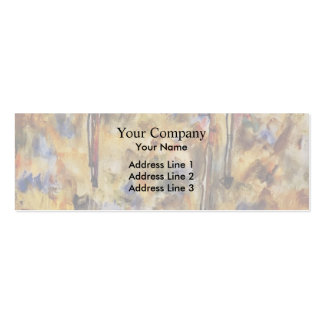 Egon Schiele- Winter Trees Pack Of Skinny Business Cards