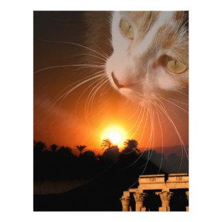 Egpytian Cat Goddess Letterhead