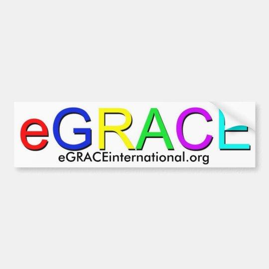 eGRACE: The Bumper Sticker
