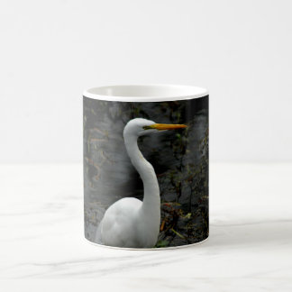 Egret 2 Photograph On Coffee Mug