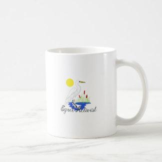 Egret Activist Coffee Mug