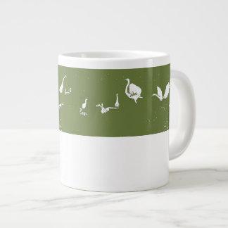 Egret Bird Art Specialty Mug