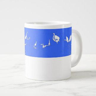 Egret Birds Art Jumbo Mug