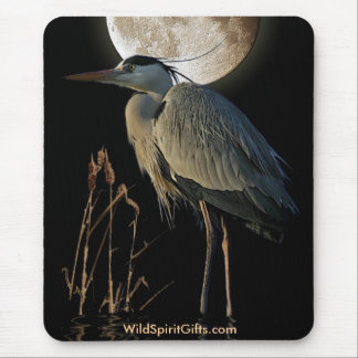 EGRET - BLUE HERON Mousepad Series