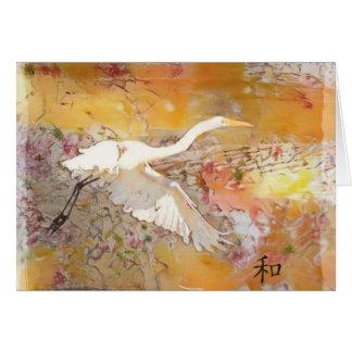 Egret/Harmony Card