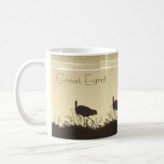 Egret Heron Bird Wildlife Animal Photography Coffee Mug