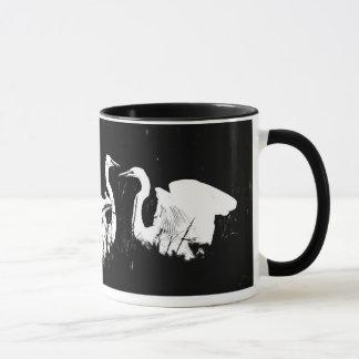 Egret Heron Bird Wildlife Animal Photography Mug