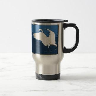 Egret Heron Bird Wildlife Animal Photography Travel Mug