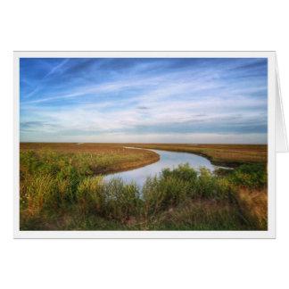 Egret Island, Matagorda, TX Card