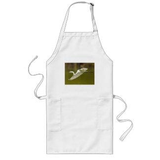 egret long apron
