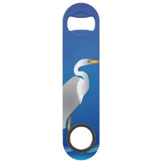 Egret on the Beach Bar Key