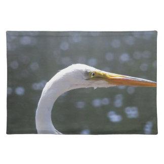 egret placemat