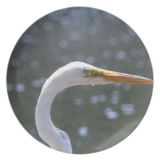 egret plate