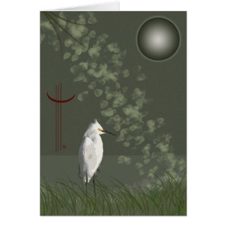 Egret Too Card