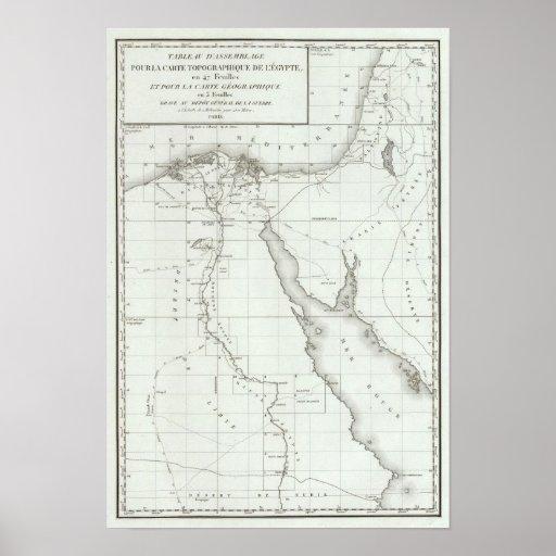 Egyopt and Palestine Print