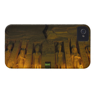 Egypt, Abu Simbel, Lighted facade of Small iPhone 4 Case