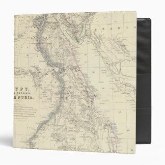 Egypt, Arabia Petraea, Nubia Vinyl Binders