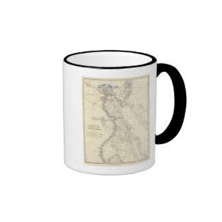 Egypt, Arabia Petraea, Nubia Coffee Mugs