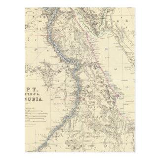 Egypt, Arabia Petraea, Nubia Postcard