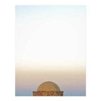 egypt architecture letterhead design