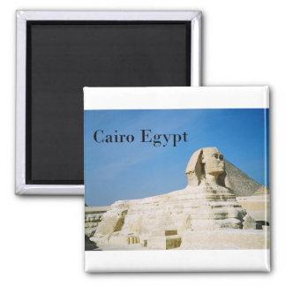Egypt Cairo Giza Sphinx-2 (St.K) Magnet