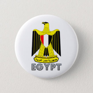 Egypt Coat of Arms 2 Inch Round Button
