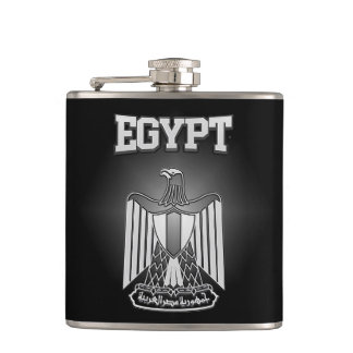Egypt Coat of Arms Flasks