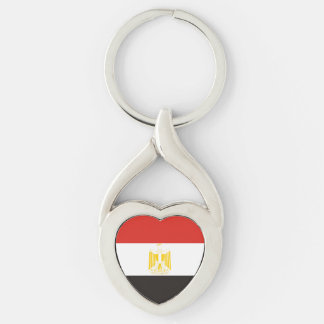 egypt country flag symbol long keychain