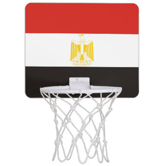 egypt country flag symbol long mini basketball hoop