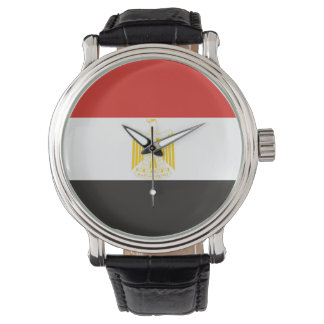 egypt country flag symbol long watch
