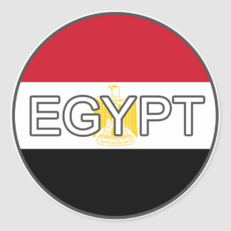 Egypt Euro Sticker