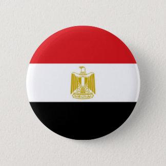 Egypt Flag 2 Inch Round Button
