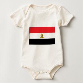 Egypt Flag Baby Bodysuit