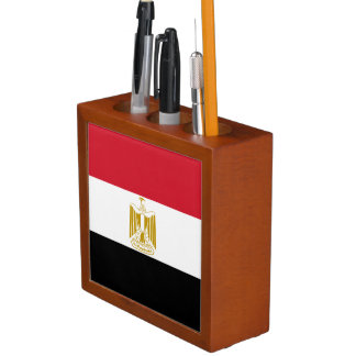Egypt Flag Desk Organizer