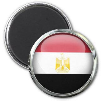 Egypt Flag Glass Ball Magnet