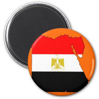 Egypt flag map magnet