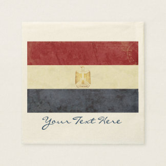 Egypt Flag Party Napkins Paper Napkin