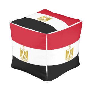 Egypt Flag Pouf