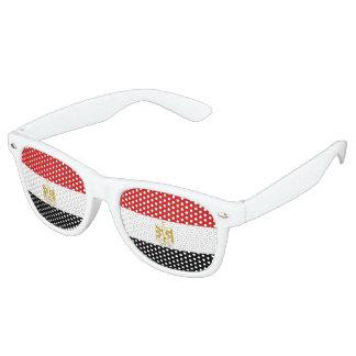 Egypt Flag Retro Sunglasses