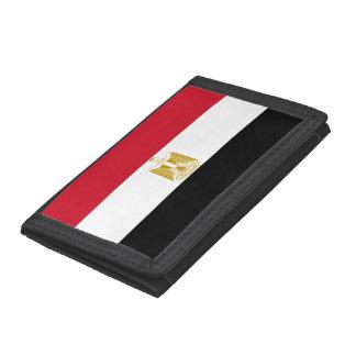 Egypt Flag Tri-fold Wallet