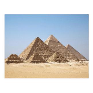 Egypt-Gizah Pyramids Postcard