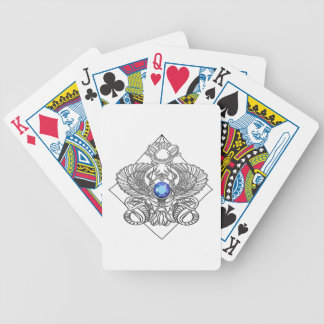 Egypt Gods torus Bicycle Playing Cards