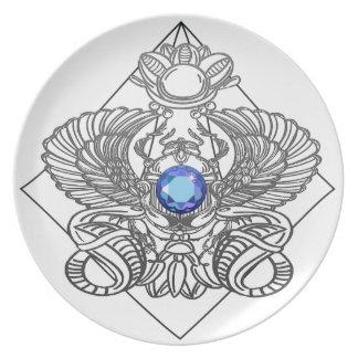 Egypt Gods torus Plate