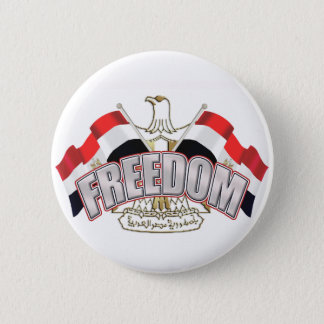 Egypt is Free At Last Egypt Freedom Gift 2 Inch Round Button