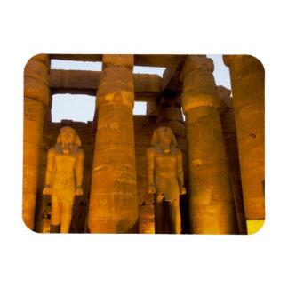 Egypt, Luxor.  Karnack Temple. Rectangular Photo Magnet