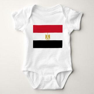 Egypt National World Flag Baby Bodysuit