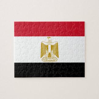 Egypt National World Flag Jigsaw Puzzle