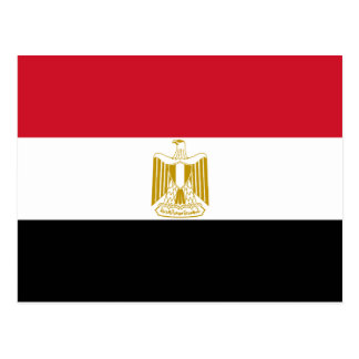 Egypt National World Flag Postcard