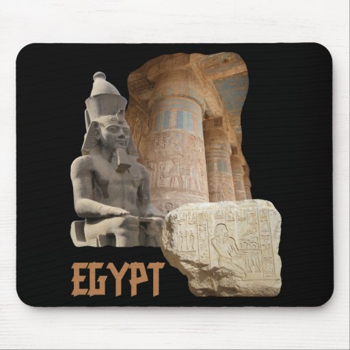 EGYPT photo collage mousepad